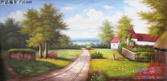风景油画 - 风景油画 - 古典风景油画 139艺术网官方