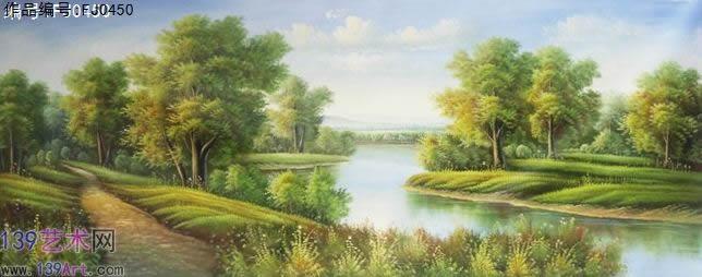 风景油画古典风景油画风景油画