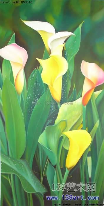 静物油画写实花卉静物油画花