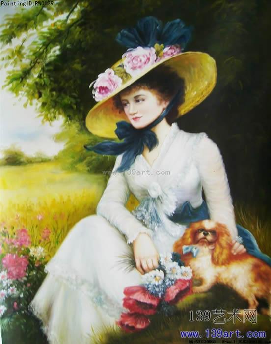 人物- 人物油画 - 世界名画人物油画 139艺术网官方