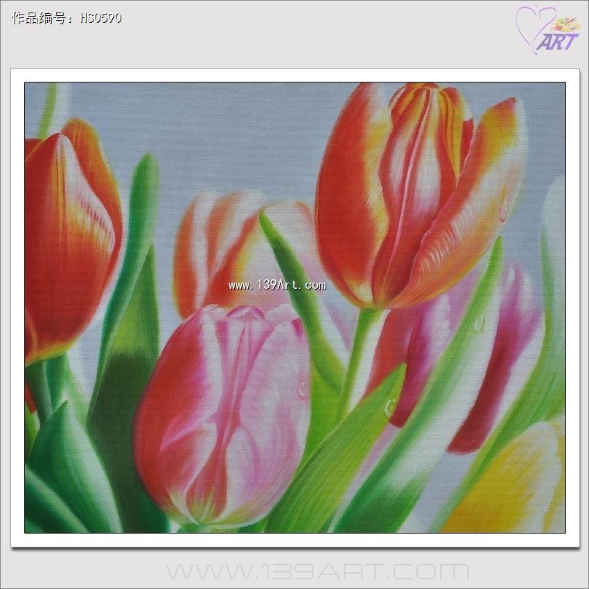 花卉静物油画
